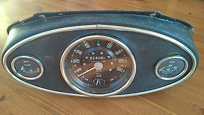 Classic Mini Speedo Binnacle Complete With Smiths Gauges and Wiring Loom