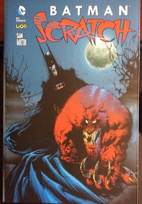 Batman Scratch di Sam Kieth rw lion