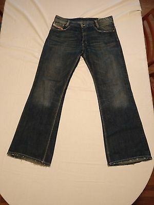 """DIESEL Jeans """"KOFFHA"""" Wash 0071B Marked Size 34x32 MADE in ITALY"""