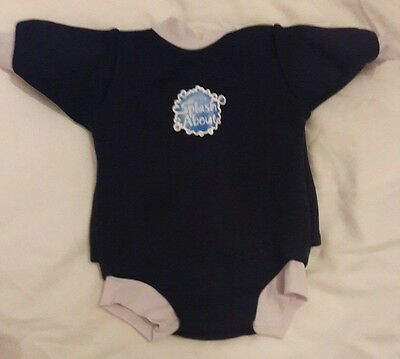 splash about happy nappy wetsuit - size large