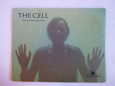 THE CELL Movie MOUSE PAD Promo - Catherine Sutherland in Water Tank NEW LINE