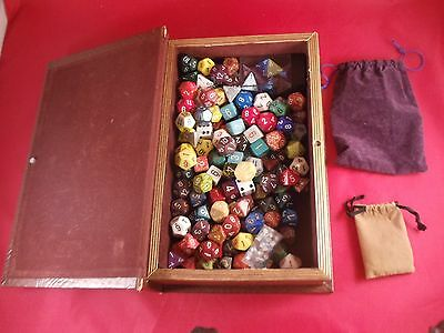 Dungeons And Dragons - Mages Book Of Dice - Over 100 Dice!