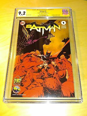 Batman 1 Cgc 9.2 Alamo City Con M&m Edition Signed Greg Capullo Not 9.8