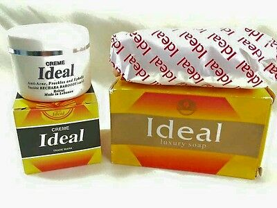 Pack Crema Ideal + Jabón  Ideal (anti acné y antimanchas).