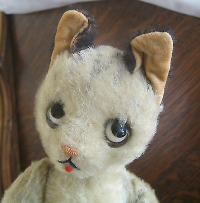 "Very Rare! HTF Schuco Bigo Bello large Koko Cat  vintage 10"" doll"