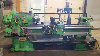 "Monarch lathe 54"" between centers, 18.5"" swing, equipped with  DRO"