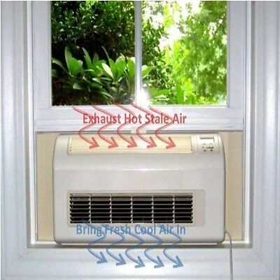 Nature's Cooling Ductless Solutions Air Conditioner Eco Breeze Smart Window Fan