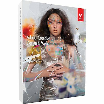 Adobe Dreamweaver CS6 + Flash + Fireworks +++ MAC deutsch Voll BOX RETAIL MWST
