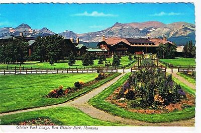 Montana Postcard Glacier Park Lodge East Glacier National Park