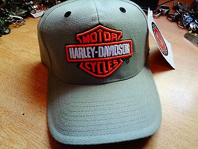 SIZE 7 Harley Davidson Fitted Hat Classic Factory HD Motorcycle Dealership Cap