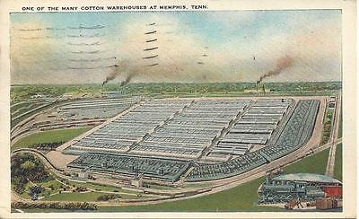 PC Memphis, TN 1931 One of the many cotton Warehouses See image 3 for info