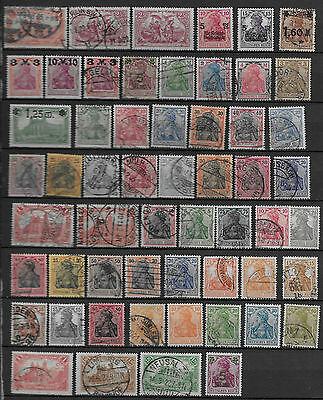 Germany Small Lot Very Old Mh/used Stamps