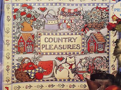 """Dimensions Country Pleasures Quick and Easy Mini Quilts No Piecing 15x13"""""""