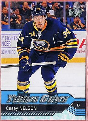 2016-17 Upper Deck Casey Nelson Young Guns Rookie Yg #462 Rc Ud2 16-17