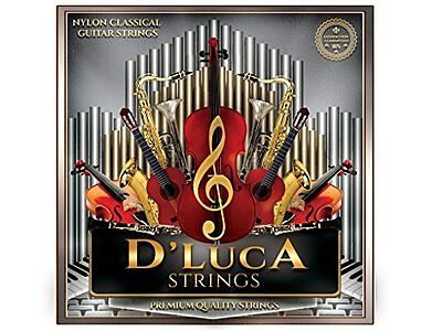 D'Luca Nylon Classical Guitar Strings 6 Pcs Set