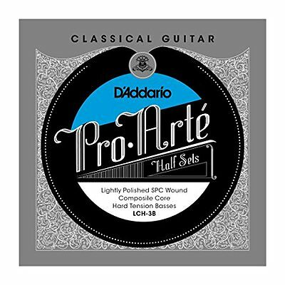 D'Addario Silver Copper on Composite Core Classical Guitar Half Set, Hard