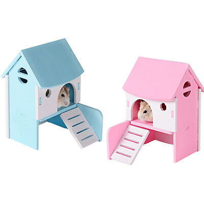 Small Animal Hamster Mice Mouse House PVC Nest Cute Toy Pet Supplies