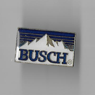 Vintage Busch Beer Rocky Mountain Sign old enamel pin