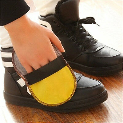 Home Wool Shoes Wipping Glove Polishing Shine Wipping Rag Leather Shoes Wiper
