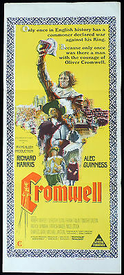 CROMWELL Daybill Movie Poster Richard Harris Alec Guinness Robert Morley Oliver