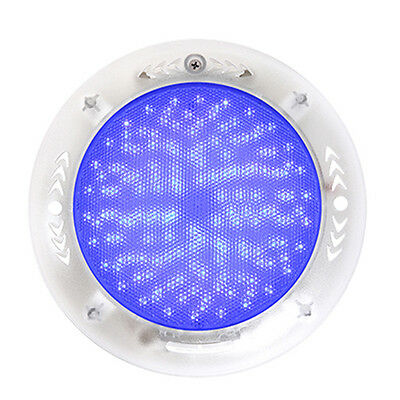 Stainess 100% Resin Filled 252 LED Swimming Pool Lights 18W RGB Multi-color 12V