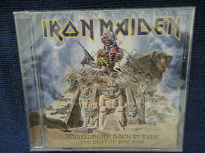 Iron Maiden Somewhere Back In Time The Best Of 1980-1989