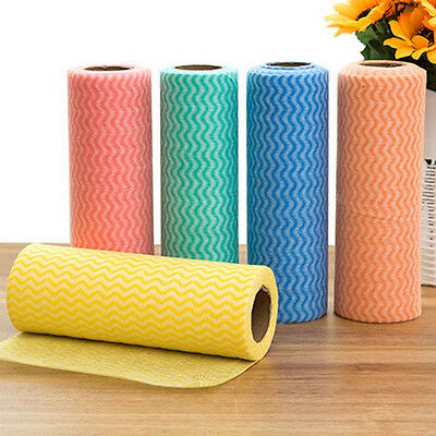 Household Disposable Non-woven Fabric Kitchen Cleaning Cloth Dish Bowl Towel