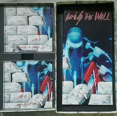 Pink Floyd Behind The Wall TOUR Box Set VERY RARE STBX PINK FLOYD THE WALL