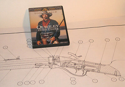 1874 Sharps Rifle Drawings, Blueprints, Quigley!!