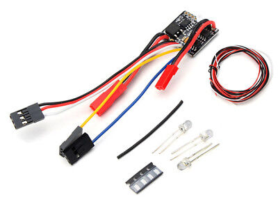RC 2 in 1 2S Lipo ESC w/LED Light Set - OH35P01 1/35 Rock Crawler Kit
