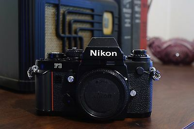 Nikon F3 Eye Level (non HP) 35mm SLR camera body only ~Film Tested~