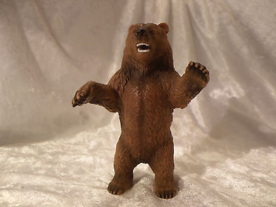 Schleich World Of Nature 1995 Grizzly Bear Standing Excellent Rare