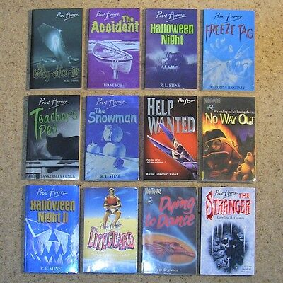 38 Point Horror Fear Street & Other Teen Horror Books Lot by RL Stine & More