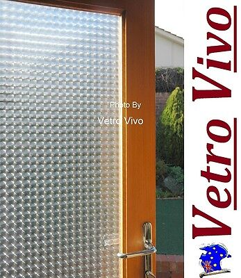 92 CM x 3 M - La Francaise.  Glueless Static Frosted Window Glass Film