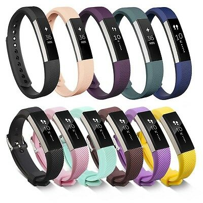 UK Newest Silicone Sports Watch Band Strap Bracelet For Fitbit Alta or Alta HR