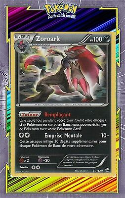 Zoroark Holo - XY8:Impulsion Turbo - 91/162 - Carte Pokemon Neuve Française