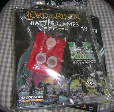 LORD OF THE RINGS ~ Battle Games in Middle Earth # 19 ~ mag & paint ~ sealed