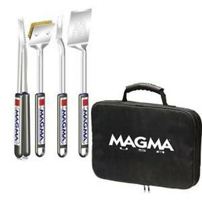 Magma Telescoping Grill Tool 5 Piece Set - Adjustable Length/Camping/Traveling