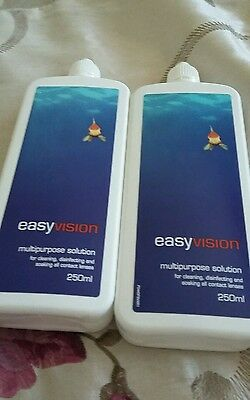 2 easyvision contact lens solutions