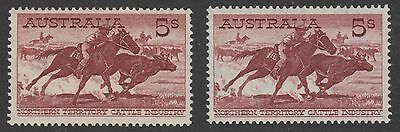1961-4 5/- Cattle cream and white papers, fresh unhinged mint  ..