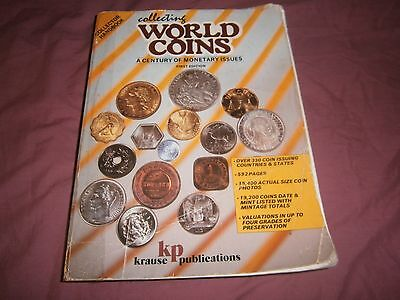 COLLECTING WORLD COINS 1st EDITION COLLECTOR HANDBOOK KRAUSE KP GUIDE- FREE POST