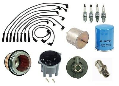 Plug Wire Filter Cap TK Fits 99-04 Nissan Frontier 3.3L V6 Tune UP Kit