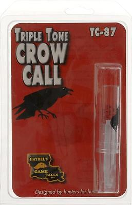 Haydel's Game Calls Triple Tone Crow Call - Also Great For Crow Pest Control