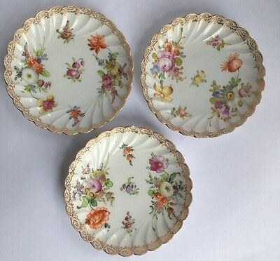 3 Dresden Pin Dishes