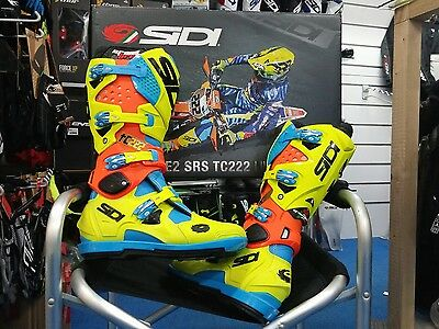Stivali Cross Sidi Crossfire 2 SRS Tc222 limited edition Tony Cairoli