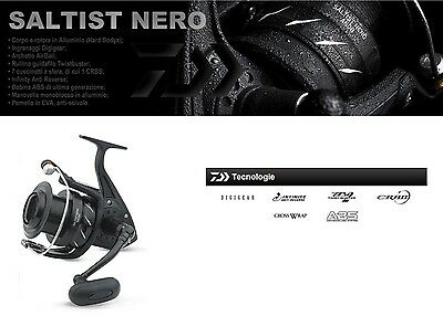 Daiwa Saltist Nero Hi Speed Saltwater Spinning Reel