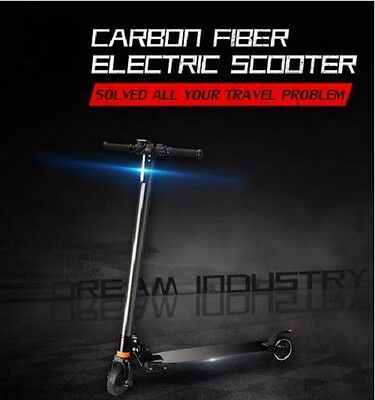2017 Carbon Fiber Electric Scooter Improved Version with Suspension