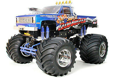 58518 Tamiya Super Clodbuster 1/10th Scale 4wd Monster Truck Assembly Kit