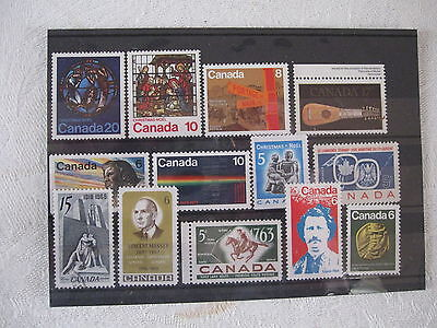 Selection Of Stamps From Canada, Top Quality, Pack 5, Post Paid