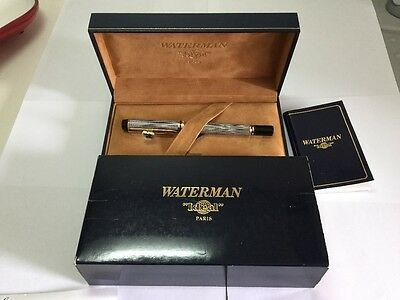 Waterman Ideal Le Man 100 Made In France Fontain Pen Original!!!!